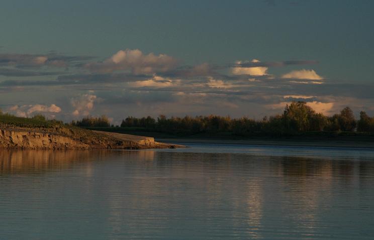 На реке Обь