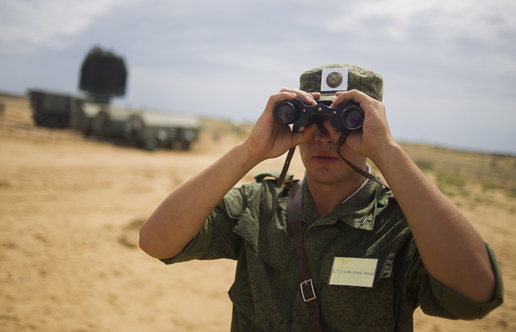 Учениях российских военно-воздушных сил и частей противовоздушной обороны на полигоне Ашулук