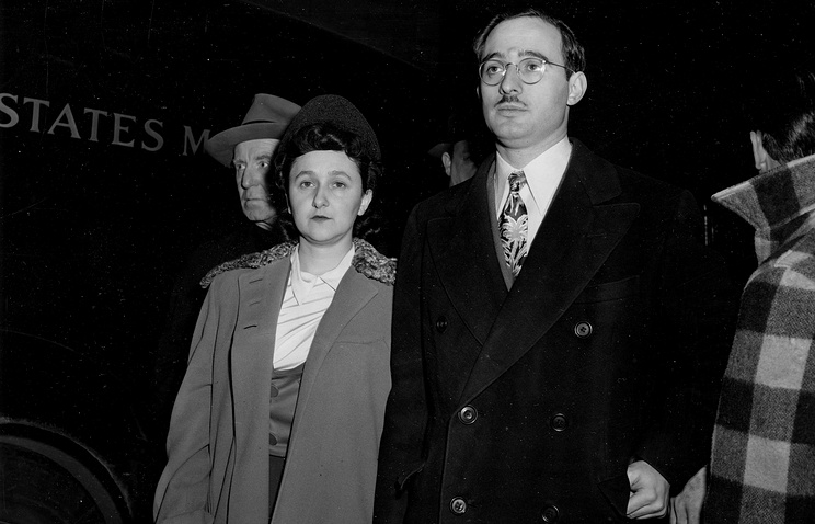 Этель и Джулиус Розенберг, 1951 год
