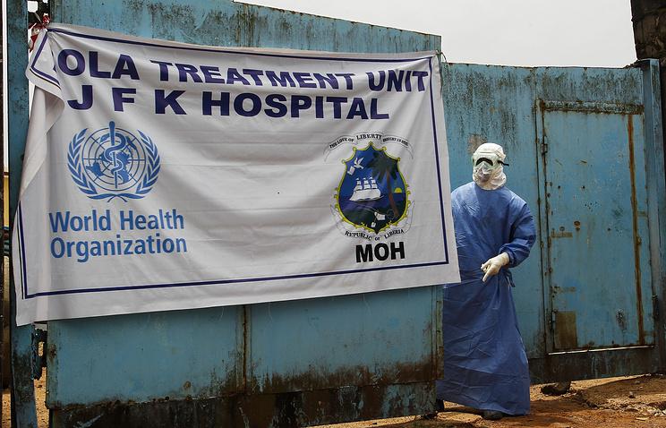 Госпиталь имени Джона Кеннеди в Либерии