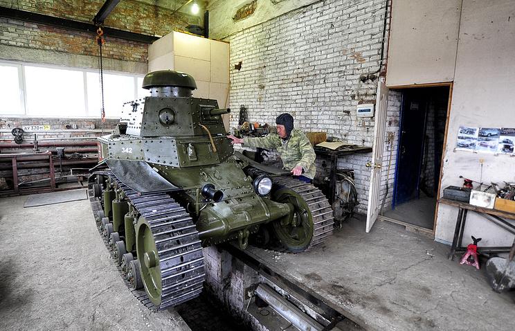 Реконструктор военно-исторического клуба