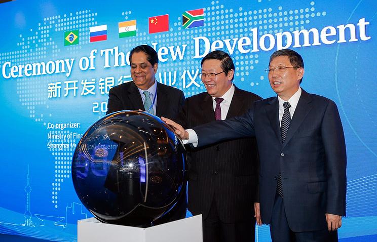 Церемония открытия Нового банка развития (НБР) БРИКС в Шанхае