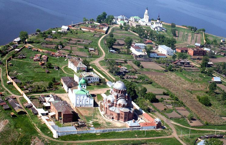 Храмы острова-града Свияжска
