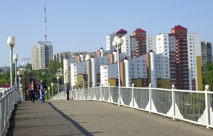 Вид Белгорода