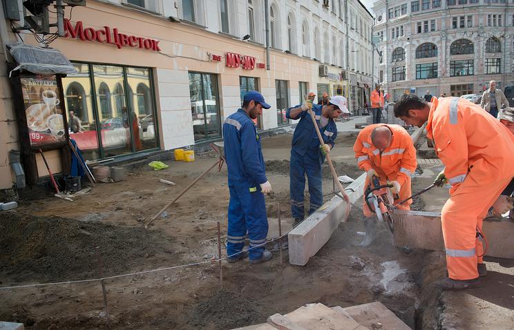 Реконструкция Мясницкой улицы