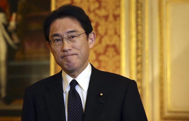 Министр иностранных дел Японии Фумио Кисида