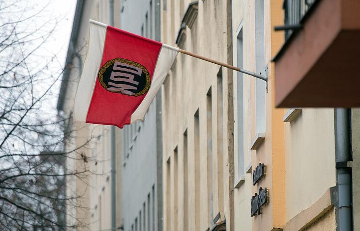 Штаб-квартира неонацистской Национал-демократической партии Германии