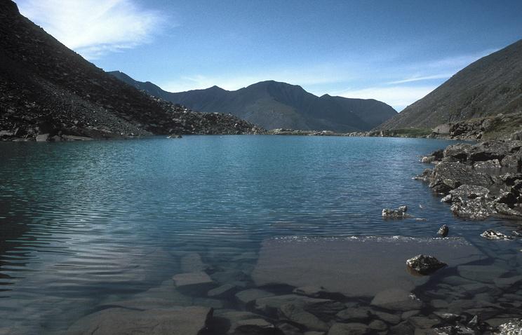 Озеро Горных Духов на Горном Алтае