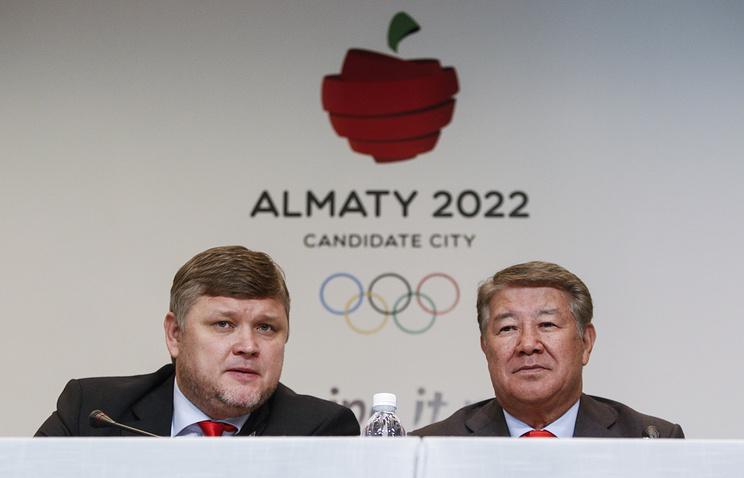 Андрей Крюков и Ахметжан Есимов