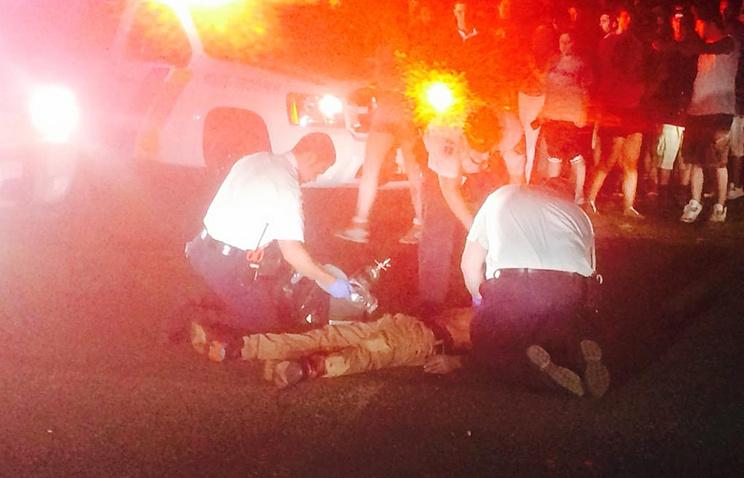 Пострадавший во время стрельбы на концерте в городе Холмдел