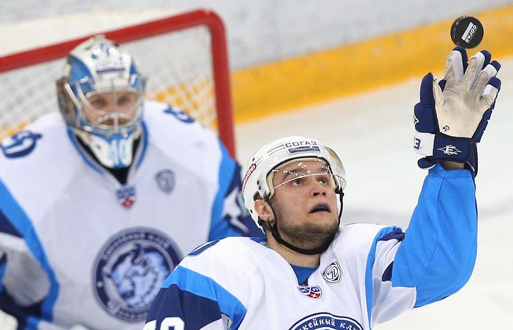 "Хоккеисты минского ""Динамо"""