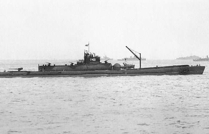 """Подводная лодка типа """"Сентоку"""""""