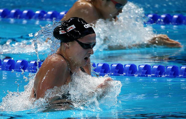 Российская спортсменка Виталина Симонова