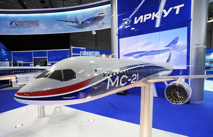 Макет МС-21