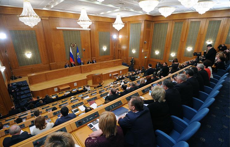 Заседание коллегии Счетной палаты РФ