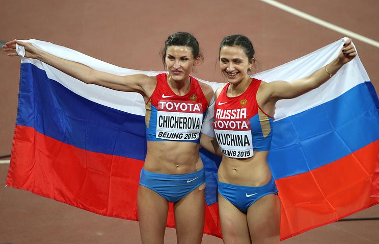 Анна Чичерова и Мария Кучина