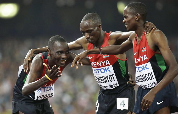 Кенийские легкоатлеты