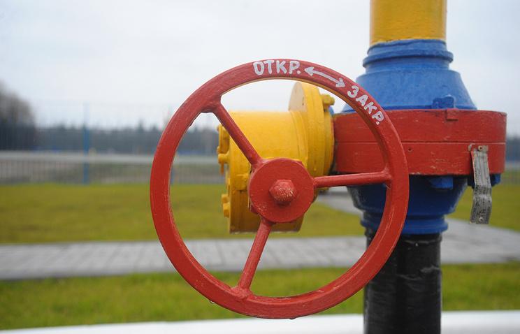 Вентиль газопровода. Архив