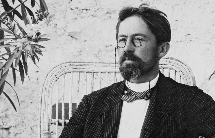 А.П.Чехов, 1900 год