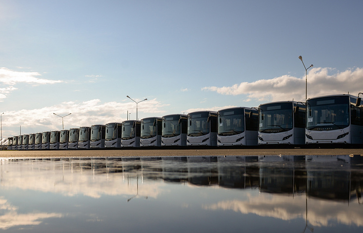 Автобусы производства завода компании Volgabus