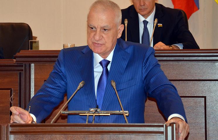 Избранный глава Северной Осетии Тамерлан Агузаров