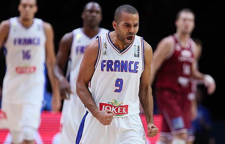 Защитник сборной Франции Тони Паркер