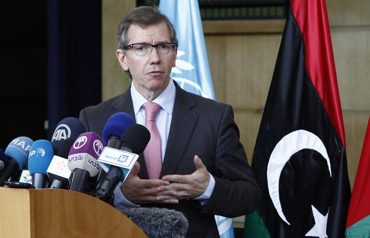 Глава Миссии ООН по поддержке в Ливии Бернардино Леон