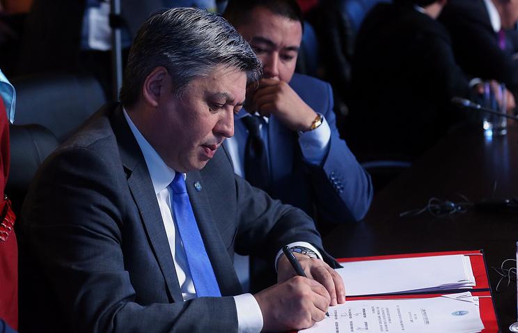 Министр иностранных дел Киргизии Эрлан Абдылдаев