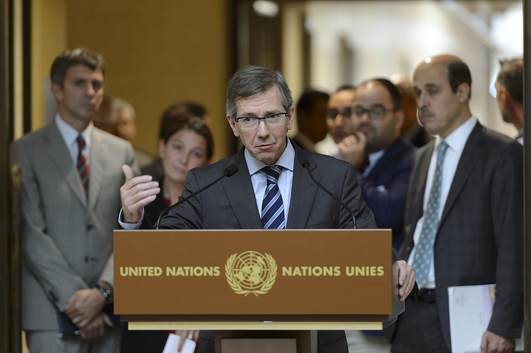 Специальный представитель генерального секретаря ООН в Ливии, глава Миссии ООН по поддержке в Ливии (МООНПЛ) Бернардино Леон