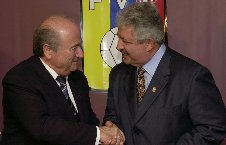 Йозеф Блаттер и Рафаэль Эскивель, 2007 года