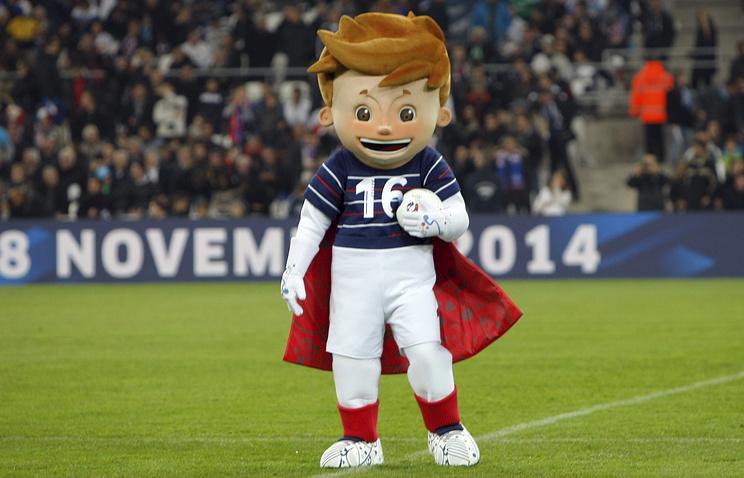 Талисман Евро-2016 Супер Виктор