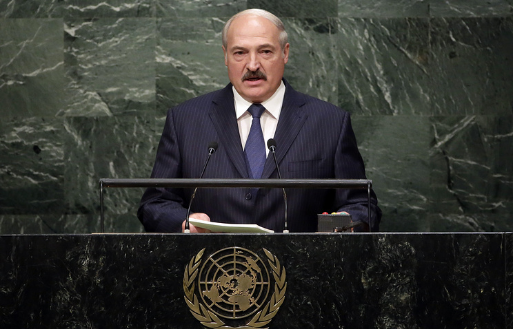 Президент Белорусси Александр Лукашенко