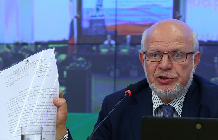 Глава СПЧ Михаил Федотов