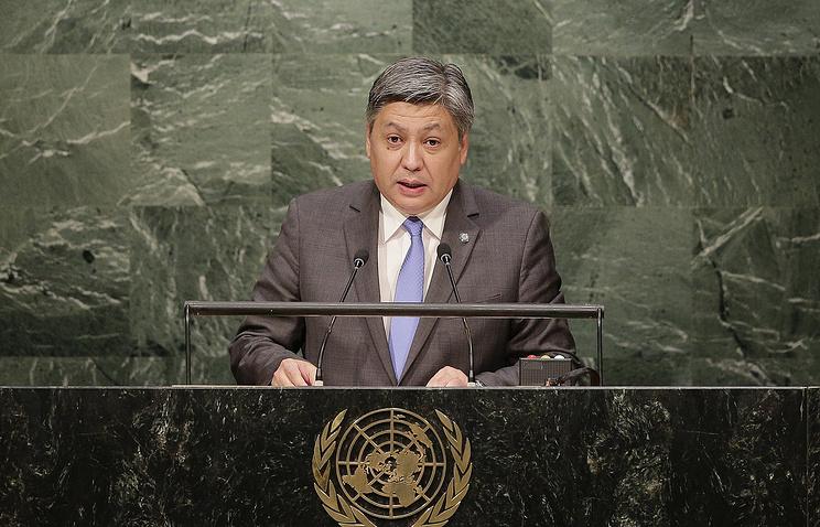 Глава МИД Республики Киргизия Эрлан Абдылдаев