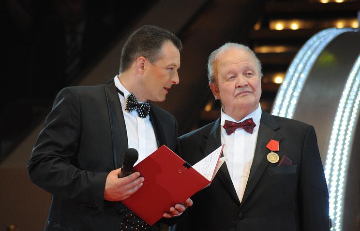 Дрессировщик Мстислав Запашный-младший и генеральный директор Российской государственной цирковой компании Мстислав Запашный (слева направо)