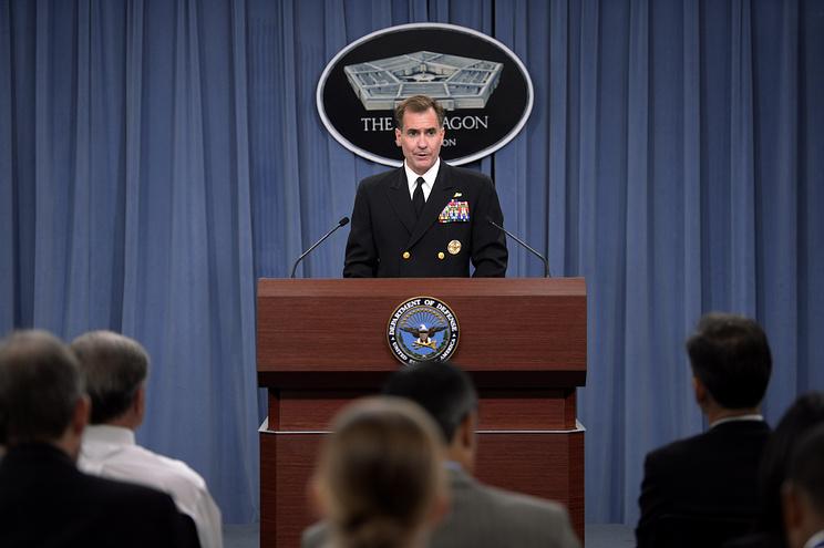 Руководитель пресс-службы госдепартамента США Джон Кирби