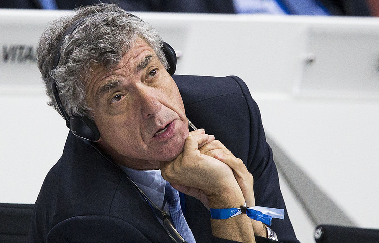 Первый вице-президент УЕФА Анхель Мария Вильяр