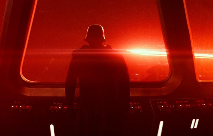 """Кадр из фильма """"Звездные войны: пробуждение силы"""""""