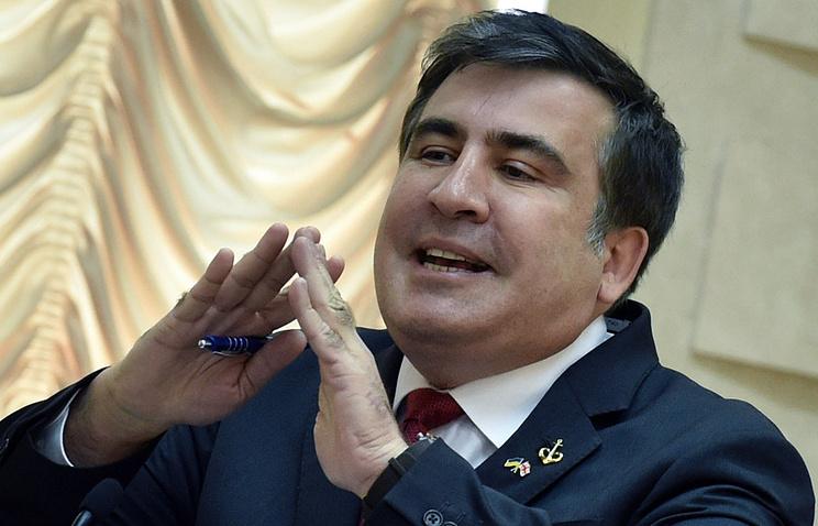 Губернатор Одесской области Михаил Саакашвили