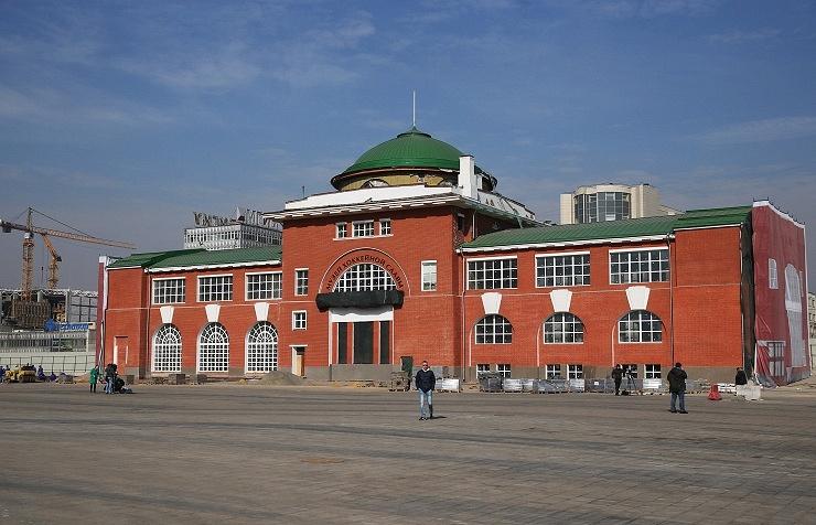 """Музей хоккейной славы, который станет частью спортивно-развлекательного городского квартала """"Парк легенд"""" на территории бывшей промышленной зоны ЗИЛ"""