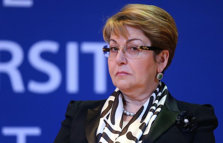 Постоянный представитель РФ при организации Элеонора Митрофанова