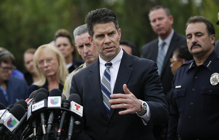 Заместитель начальника отделения ФБР США в Лос-Анджелесе Дэвид Боудич