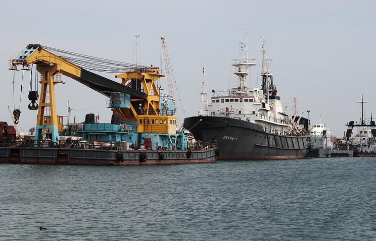 """Работа газодобывающего предприятия """"Черноморнефтегаз"""""""