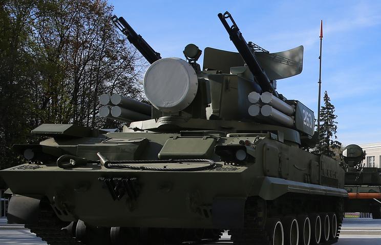 """Зенитный ракетный комплекс """"Тунгуска"""""""