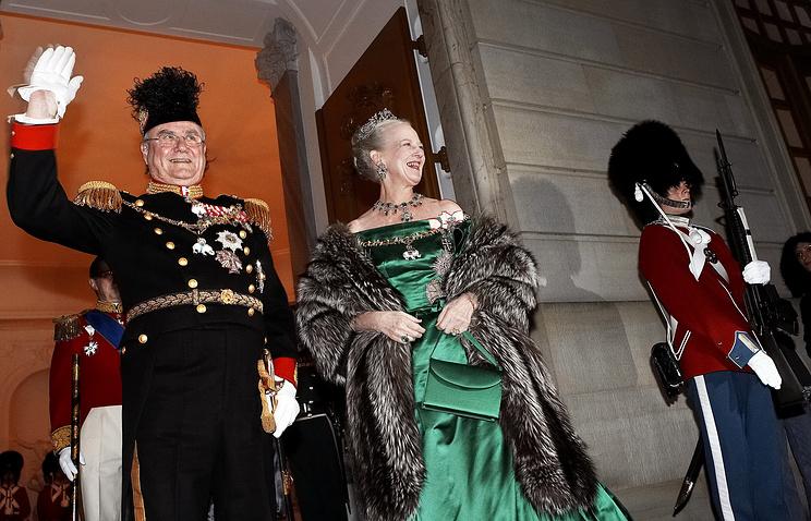 Принц-консорт Хенрик Датский и королева Маргрете II