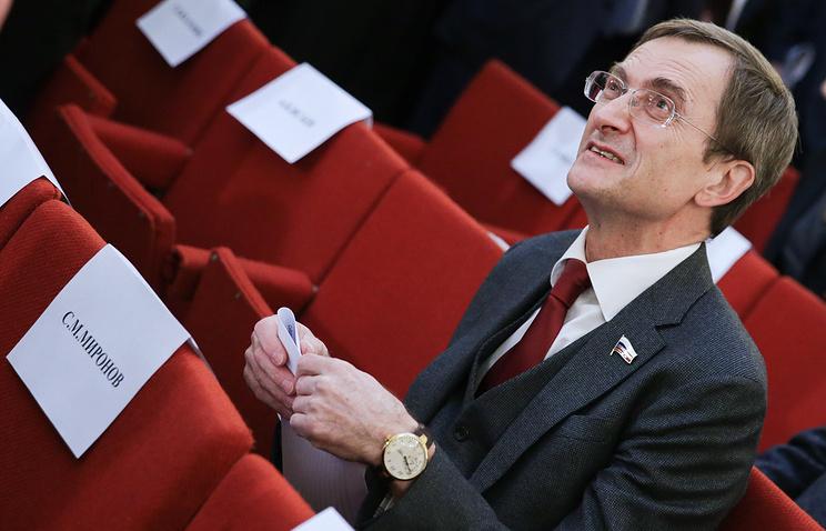 Вице-спикер Госдумы РФ Николай Левичев