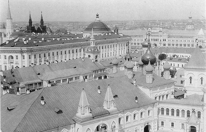 Чудов монастырь,1883 год