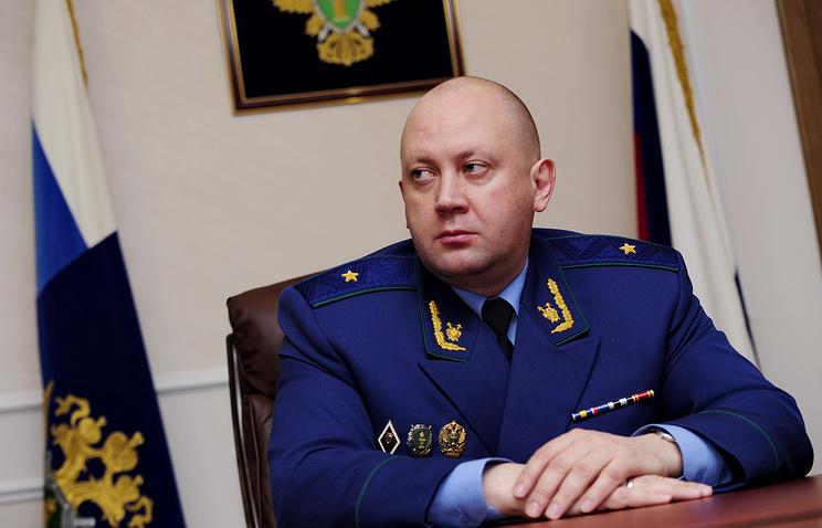 Прокурор Московской области Алексей Захаров