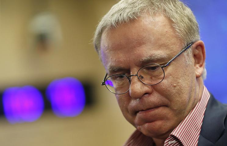 Член совета директоров Континентальной хоккейной лиги (КХЛ) Вячеслав Фетисов