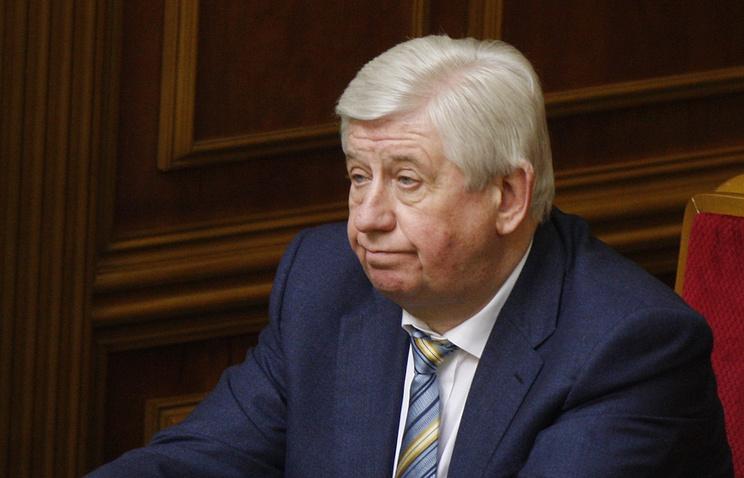 Новый генпрокурор Украины Виктор Шокин